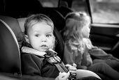 Small Children In The Car