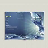 Abstract Technology Background For Book Cover