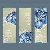 Banners Set With Diamond Element