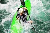 Kayaking as extreme and fun sport