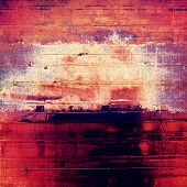 Old grunge template. With brown, red, orange, purple patterns