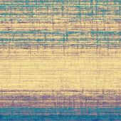 Old and weathered grunge texture. With yellow, brown, purple, blue patterns