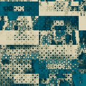 Old Texture. With blue, gray, black patterns