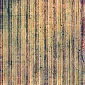 Old-style background, aging texture. With brown, orange, green patterns