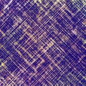 Old-style background, aging texture. With purple, violet, blue patterns