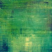 Retro texture. With green, blue patterns