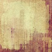Old grunge antique texture. With yellow, brown, red patterns