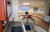 new luxury yacht interior