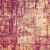 Old texture with delicate abstract pattern as grunge background. With pink, red, purple patterns
