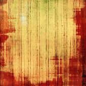 Retro background with grunge texture. With yellow, brown, red, orange patterns