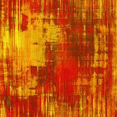 Old texture - perfect background with space for your text or image. With yellow, brown, red, orange patterns