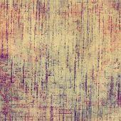 Art grunge vintage textured background. With yellow, orange, purple patterns
