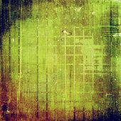 Art grunge vintage textured background. With brown, green patterns