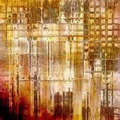 Grunge texture. With yellow, brown, orange, gray patterns