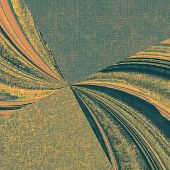 Old grunge template. With brown, orange, green, gray patterns