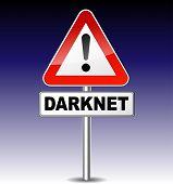 Warning Darkweb Sign