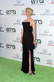 LOS ANGELES - OCT 18:  Karine Vanasse at the 2014 Environmental Media Awards at Warner Brothers Studios on October 18, 2014 in Burbank, CA
