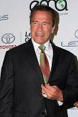 LOS ANGELES - OCT 18:  Arnold Schwarzenegger at the 2014 Environmental Media Awards at Warner Brothers Studios on October 18, 2014 in Burbank, CA