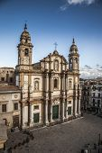 stock photo of domination  - square Church of Saint Dominic Palermo Italy - JPG