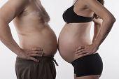 Pregnant Vs Fat