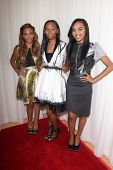 LOS ANGELES - OCT 20:  Lauryn McClain, Sierra McClain, China Anne McClain at the Creativ PR Collections at Fashion Week at Mondrian on October 20, 2014 in West Hollywood, CA