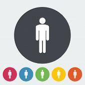 Male gender sign