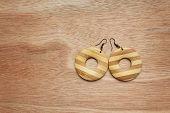 Wooden Earrings.