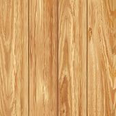 Realistic wooden texture. Vector illustration.