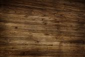 Brown Textured Varnished Wooden Floor