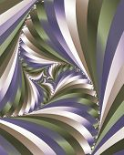 Swirling stripes