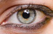 Close up of woman eye