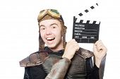 Funny pilot with movie board