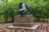 Monument To Alexander Pushkin In Tsarskoye Selo (pushkin)