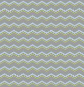Tile vector pattern with blue and green zig zag on grey background