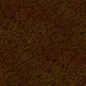 Brown Fur Seamless Generated Texture