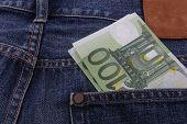 Euros (EUR) In A Pocket