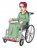 Woman Wheelchairs