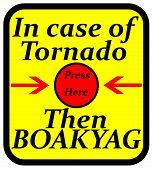 Tornado sign