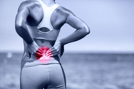 picture of red back  - Back pain - JPG