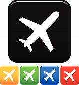 picture of aeroplan  - Vector illustration of aircraft icons - JPG
