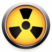 image of radioactive  - Eps 10 vector Illustrations of Radioactive symbol - JPG