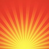 foto of sunrise  - Vector illustration of an abstract sunrise vector - JPG
