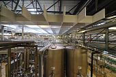 Pilsner Urquell Brewery Interior