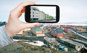 pic of chukotka  - travel concept  - JPG
