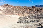 pic of arid  - Death valley a arid landscape California USA - JPG