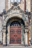pic of gory  - Entrance to the Lutheran Church of the Saviour in Tarnowskie Gory - JPG