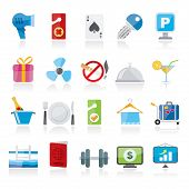 foto of motel  - Hotel and motel services icons 2 - JPG