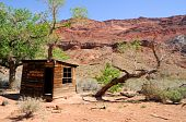 Historic Cabin Paria Canyon Wilderness in northern Arizona