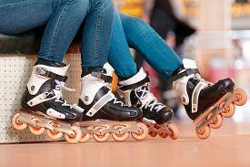stock photo of inline skating  - Inline skating - JPG