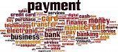 foto of barter  - Payment word cloud concept - JPG